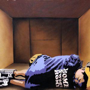 Hogar dulce hogar, acrylic on canvas, 100x80cm, n.d.