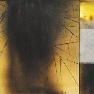 Franco Marrocco, Vegetale, tecnica mista su tela, 102x134cm, 2010.