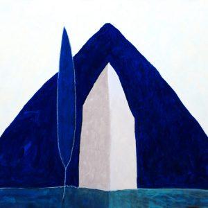 Pierantonio Verga, Silente, tecnica mista su tela, 80x100cm, 2011