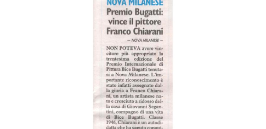 2009 Premio Bugatti il giorno 17 giugno