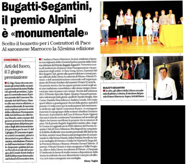 2011 maggio 28 - premio BB GS - il cittadino
