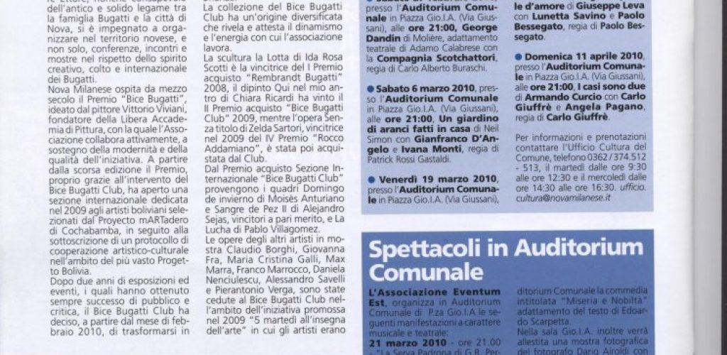 Informatore comunale Nova Milanese 2010 febbraio