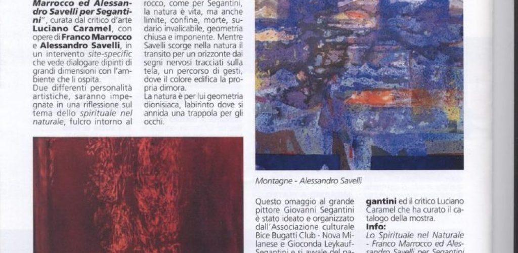 Informatore comunale Nova Milanese 2012 dicembre Mostra Savelli e Marrocco